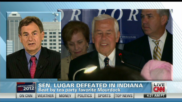Mourdock discusses Ind. GOP primary win