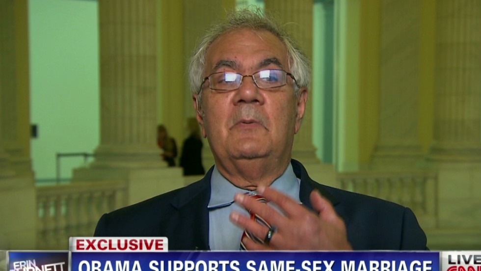 Rep Barney Frank talks weddings rings CNN Video