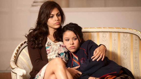 """Eva Mendes and Cierra Ramirez star in """"Girl in Progress."""""""
