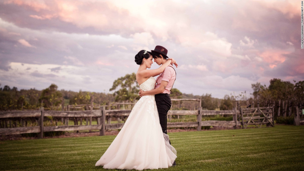 "Cushla and Tania were married on a farm outside Sydney on March 9, 2012. The entire family attended the ceremony, including Tania's grandparents who are Muslim.  <a href=""http://twobirdsnest.com/"" target=""_blank"">Twobirdsnest.com</a>"