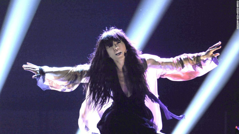 "Sweden's entry this year, Loreen, was the bookies' favorite with ""Euphoria"" and she duly delivered."
