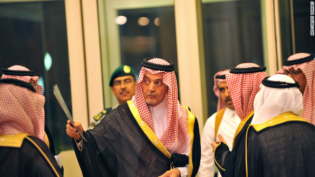 Saudi Foreign Minister Prince Saud al-Faisal, center, is part of the effort to create a Gulf State union.