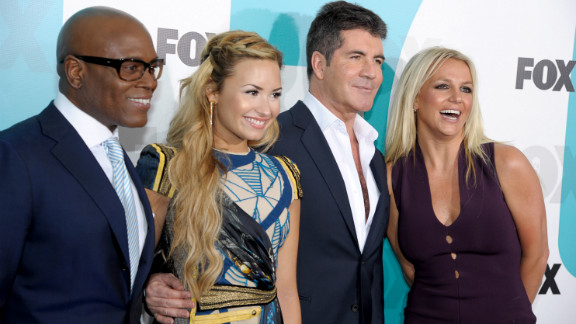 "Britney Spears will join L.A. Reid, Demi Lovato and Simon Cowell on ""The X Factor."""