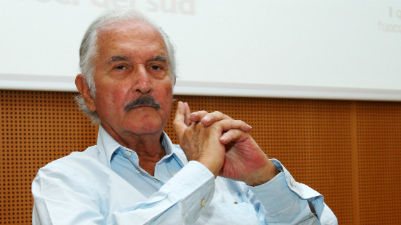 Mexican author Carlos Fuentes died on May 15 at the age of 83.