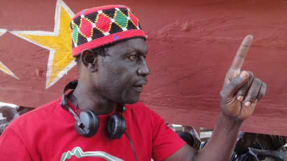 """Moussa Toure, director of """"La Pirogue,"""" which has been selected for the Cannes Film Festival."""