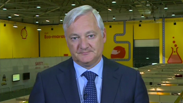 Shell's Voser: Euro exit uncertain