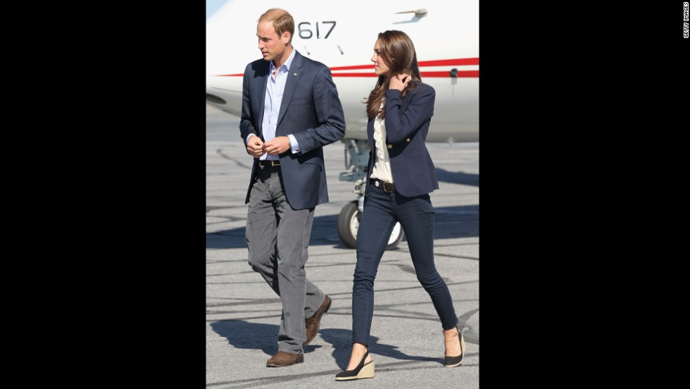 Kate kept it casual in Yellowknife, Canada, on July 6 2011.