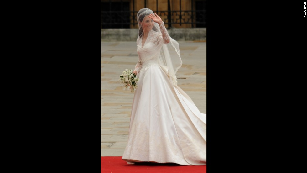 Kate Middleton Wedding Dress Teddy Bear