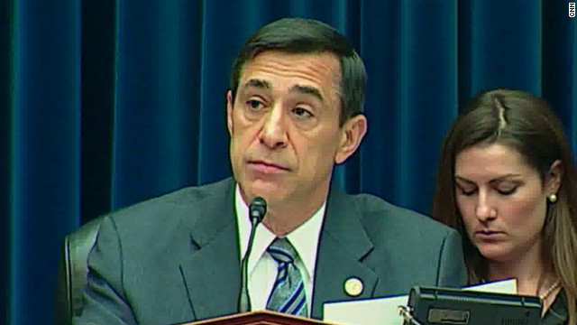 House Oversight Committee Chairman Darryl Issa, R-California, wants more documents from the Justice Department.