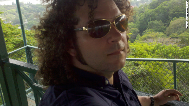 The curls get out of hand during a vacation to Panama in March.