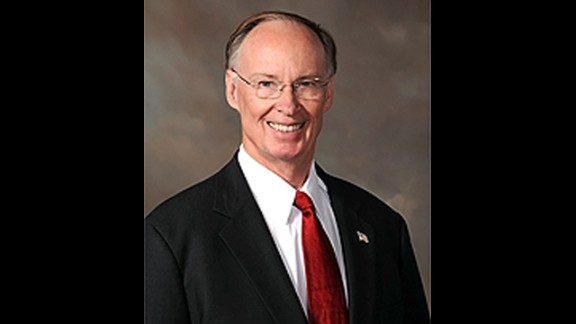 """""""As a physician, and as a governor, I am proud to sign this legislation,"""" says Alabama Gov. Robert Bentley."""
