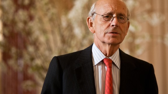 Stephen Breyer was appointed by Clinton in 1994 and is part of the court's liberal wing.