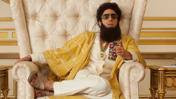 "Sacha Baron Cohen stars in ""The Dictator."""