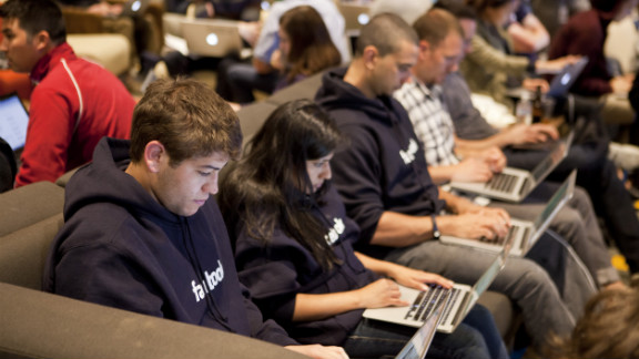 """Many of the company's most successful products have come out of its Hackathons, including the Facebook timeline, chat, video and the """"like"""" button."""