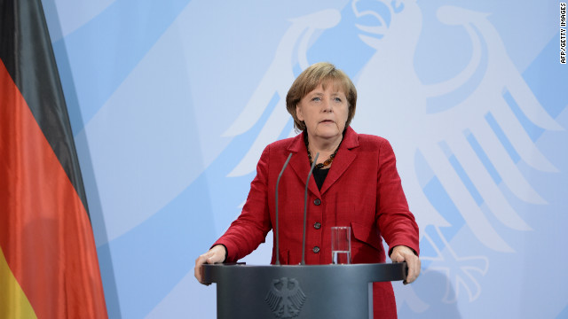 German Chancellor Angela Merkel believes a clear roadmap for eurozone integration will ultimately restore investor confidence.