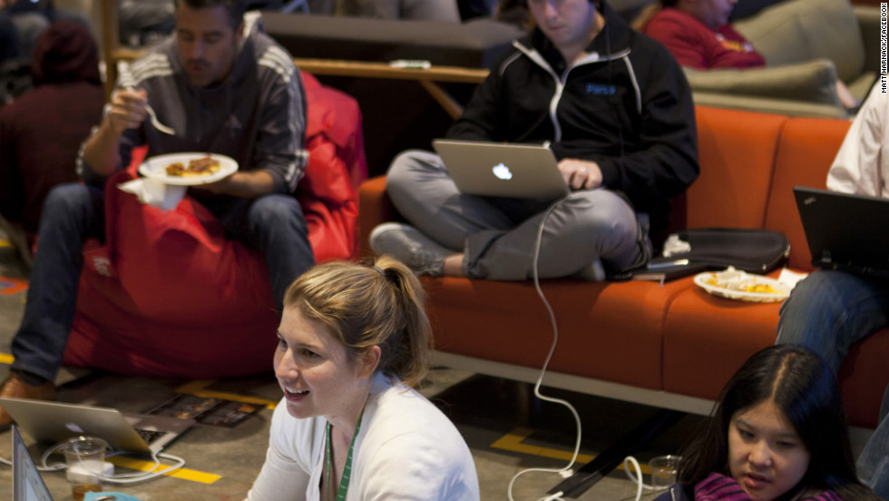 Part codathon, part slumber party, the Hackathon is a bonding ritual for many Facebook staffers.
