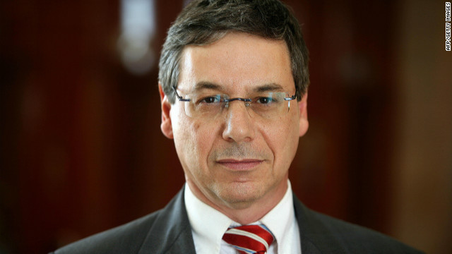 File photo of Israeli Deputy Foreign Minister Danny Ayalon on July 2, 2009.