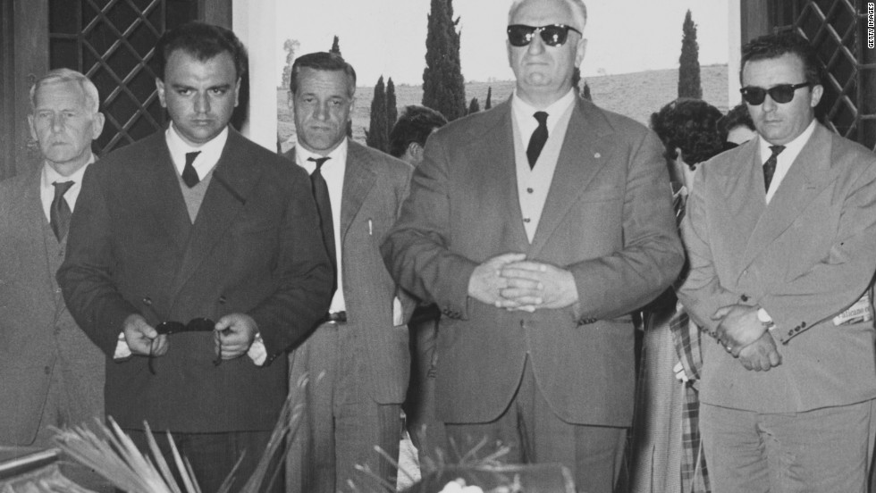 Enzo Ferrari, the founder of the legendary Italian manufacturer, was present at De Portago's funeral.