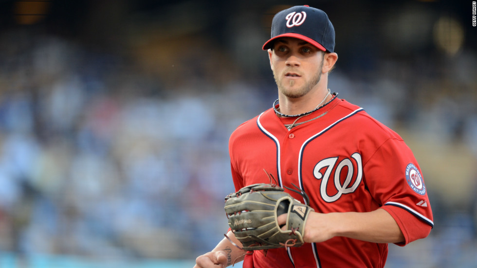 Bryce Harper Made His Major League Debut Against The Los Angeles Dodgers On April 28