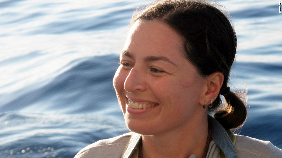 Miriam Goldstein, a Scripps Institution of Oceanography researcher has studied plastic debris in the North Pacific Ocean Subtropical Gyre, and is concerned about its potential impact on biodiversity.