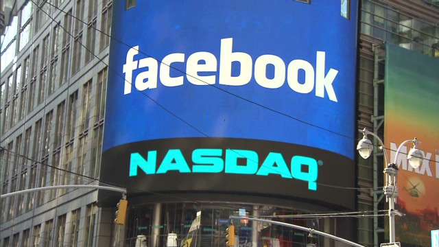 Facebook IPO opening
