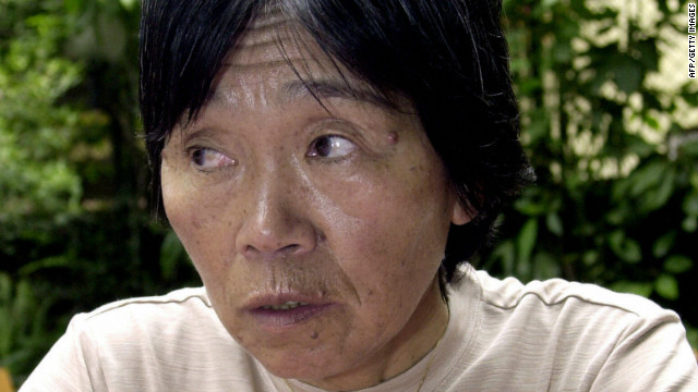 Tamae Watanabe, pictured in June 2004, joins the 4,000 people who have climbed Everest.