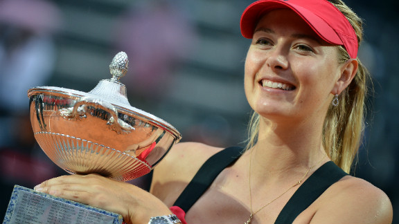 Maria Sharapova won the 26th title of her career after beating Li Na in three sets