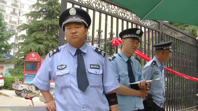 Chen leaves behind Chinese crackdown