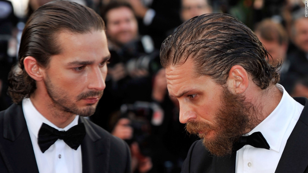 """Lawless"" is a Western crime film starring Shia LaBeouf, left, and Tom Hardy. The screenplay was written by singer-songwriter Nick Cave."
