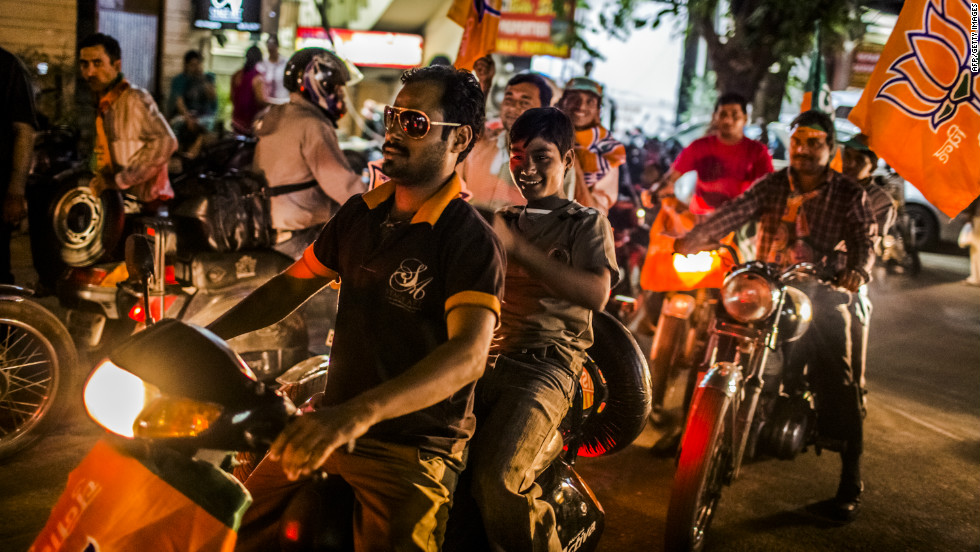 Regardless of the outcome of the 2012 election, Joseph says India looks at the U.S. two-party system with envy. Hundreds of candidates from dozens of parties campaign, and their supporters ride through cities on motorbikes to lobby voters.