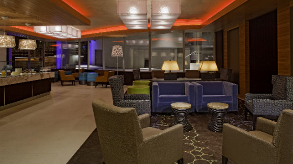 It's not all leisure though. Patel says the hotel's facilities let him wine and dine clients in a classy environment, without ever having to stray too far.