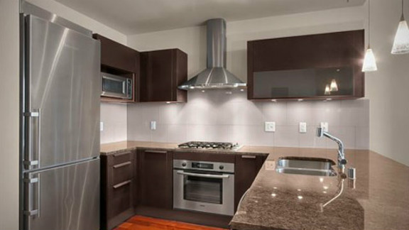 The apartment comes with features including a fully equipped kitchen. But Patel