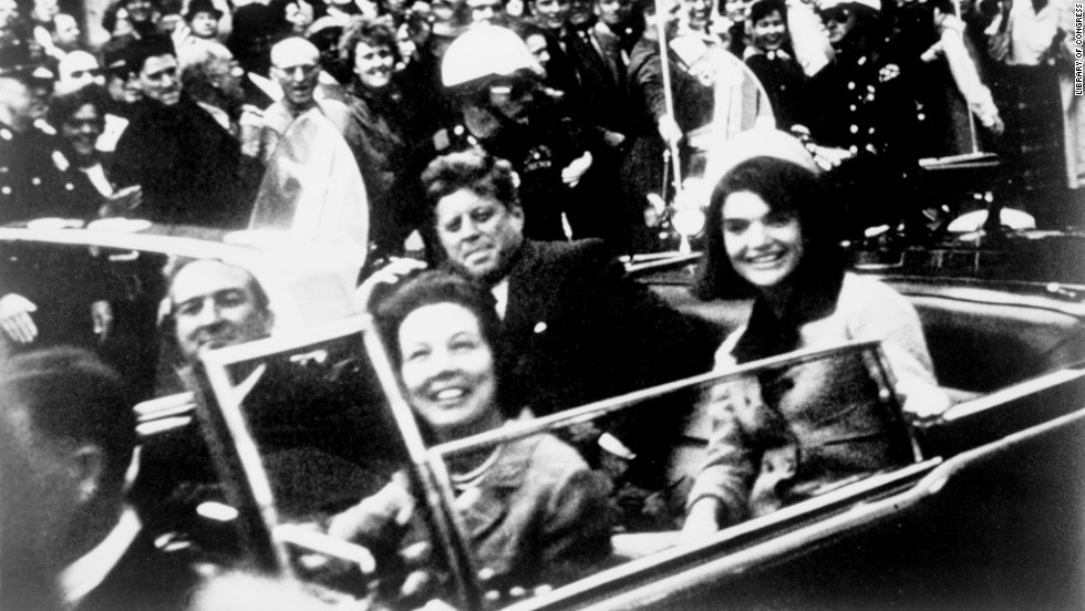 "<a href=""http://www.cnn.com/SPECIALS/us/jfk-assassination-anniversary"">U.S. President John F. Kennedy was assassinated</a> during a motorcade in Dallas on November 22, 1963."