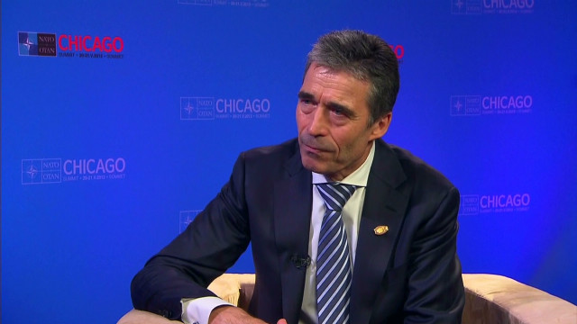 NATO Secy: 'Syrian opposition not united'