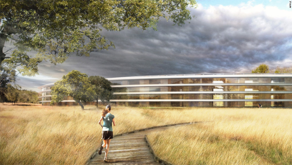 Apple's new 'spaceship' campus: What will the neighbors say