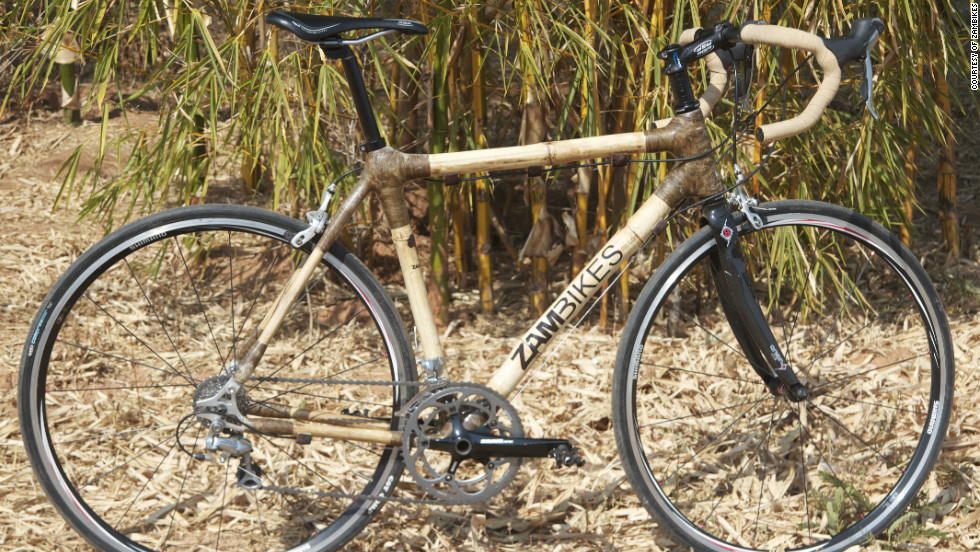 Zambikes is a Zambia-based company that is producing bicycles made out of bamboo.