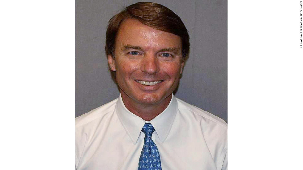 Edwards' mug shot was released after the former presidential candidate pleaded not guilty in June 2011 to charges of accepting illegal campaign contributions, falsifying documents and conspiracy.