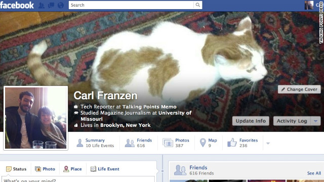Changes to Facebook's Timeline being considered include moving text from the users profile onto their photo.