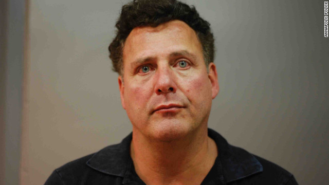 Gary Giordano was charged with indecent exposure after being found naked in an SUV with a woman, police said.