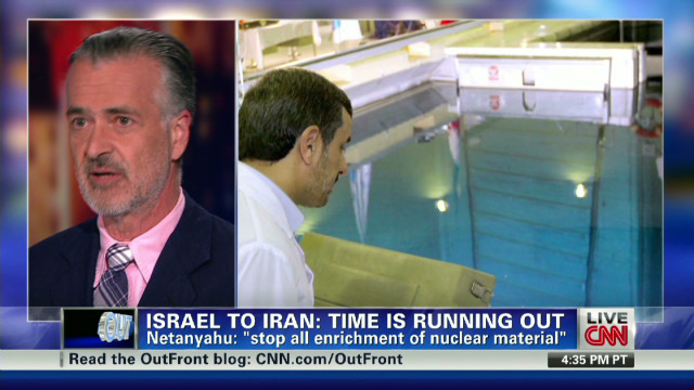 Israel to Iran: Time is running out