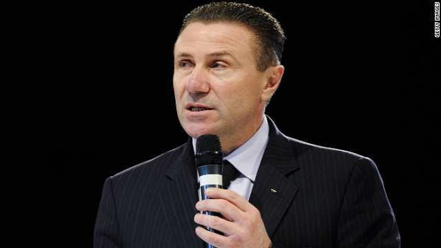Sergey Bubka, president of the Ukraine National Olympic Committee, has suspended an official over ticket fraud claims