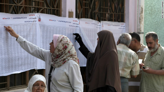 Egypt prepares to vote