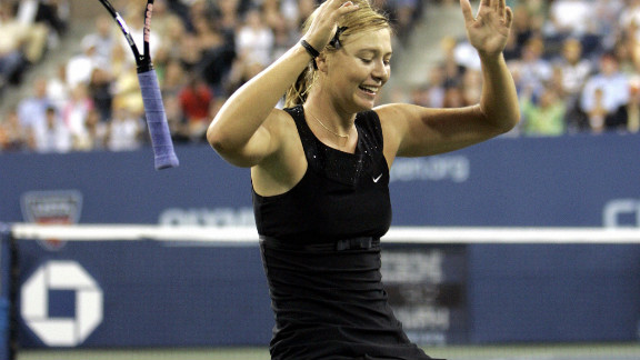 Sharapova's second major success came at the U.S. Open in 2006 when she beat Justine Henin at Flushing Meadows. By this stage she had already become the first Russian woman ever to hold the world No. 1 ranking.