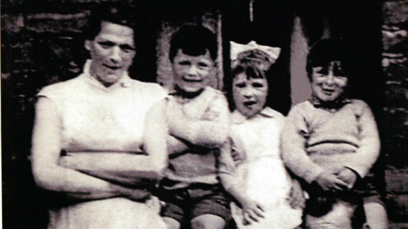 Jean McConville (left) with three of her 10 children. McConville
