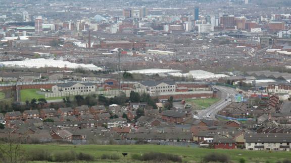 Belfast was the front line in Northen Ireland