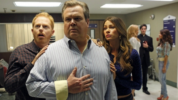 """<strong>Outstanding performance by an ensemble in a comedy series: </strong>""""Modern Family"""""""