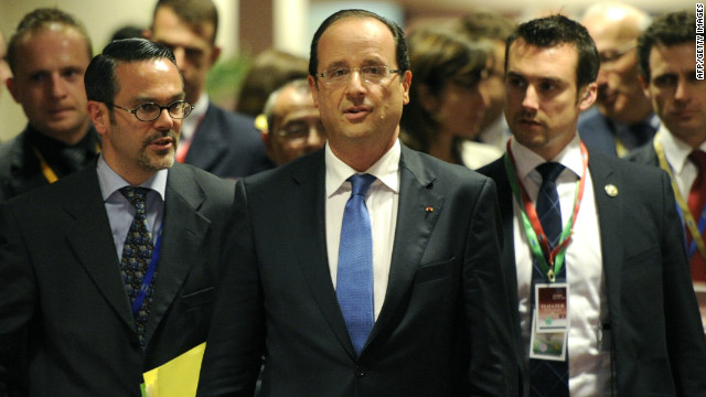 President François Hollande's new Socialist government prioritizes agreement on urgent moves to tackle the eurozone debt crisis.