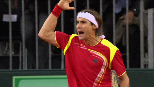 Spirit, fitness and David Ferrer