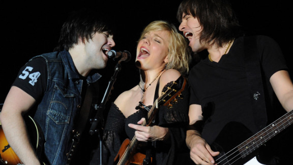 The Band Perry performs at the 2012 Arizona Country Thunder Music Festival on April 15 in Florence.