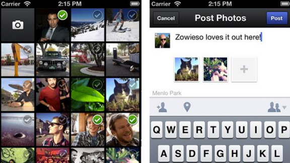 Like Instagram, the new Camera app makes it easier to share friends' photos on mobile devices.